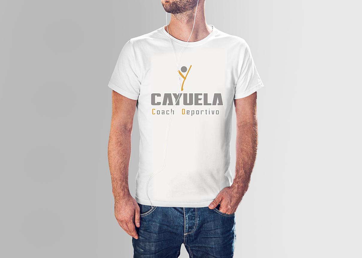 Merchandising, camiseta Cayuela, Coach Deportivo