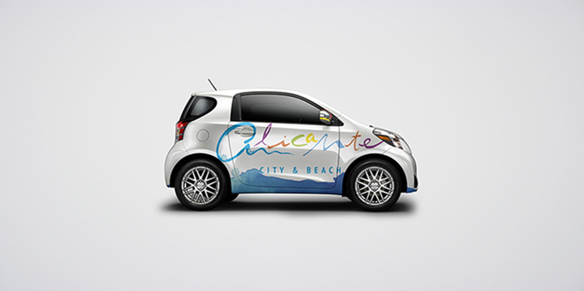 Rotulación coche Alicante City & Experience