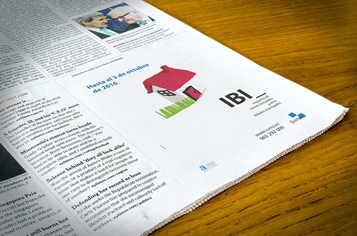 Campaña  prensa IBI, SUMA