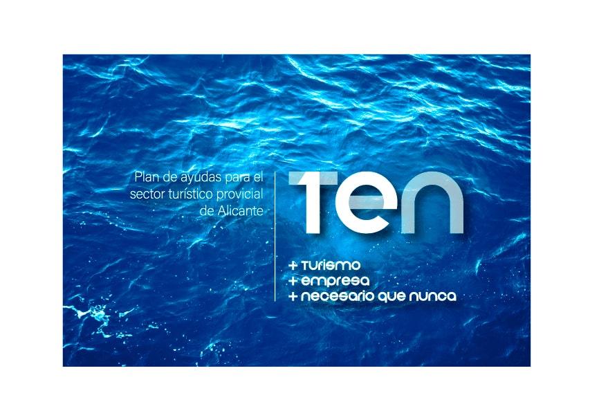 Diseño identidad corporativa Ahoy apartamentos turísticos Alicante